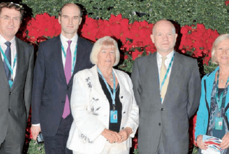 William Hague Bahrain