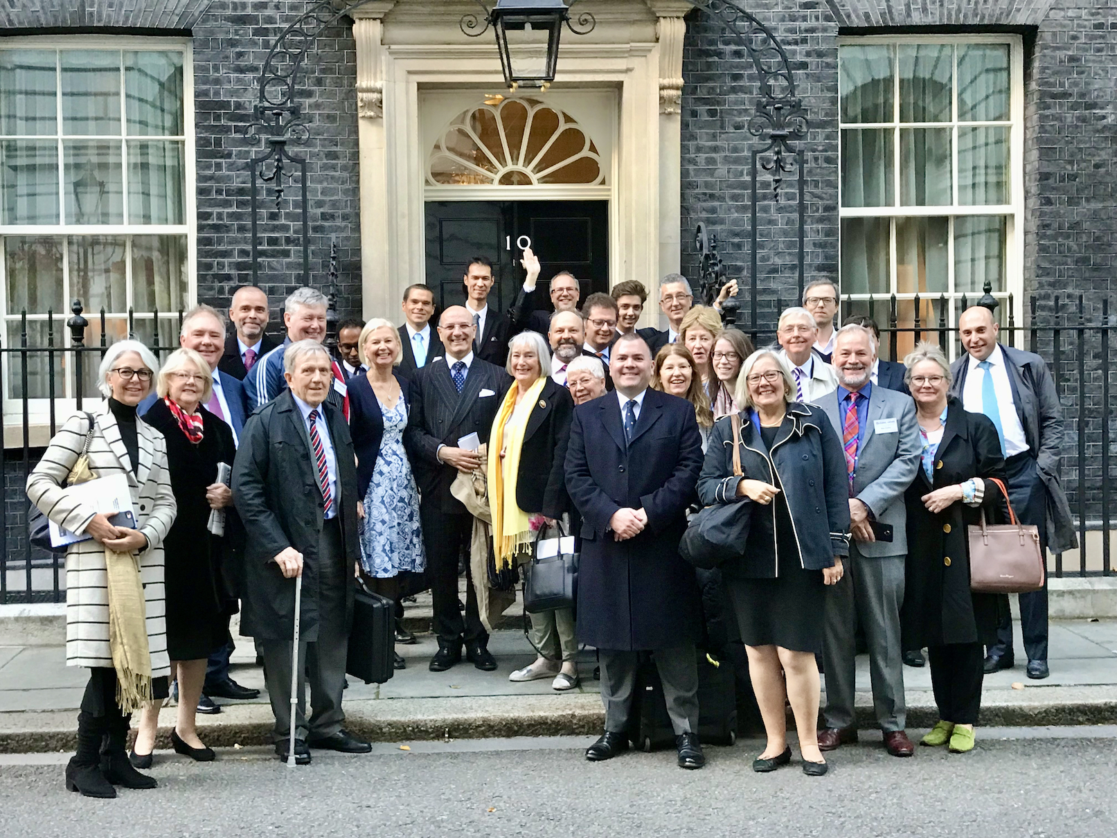 Conservatives Abroad at Downing Street